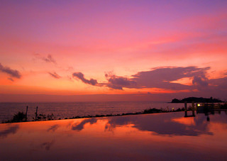 Sunset in Koh Samui