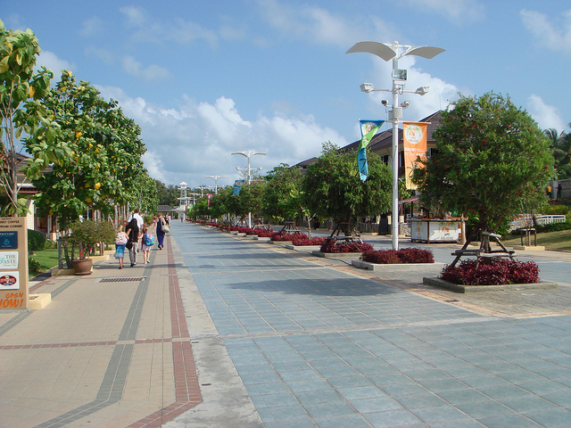 Samui Airport area