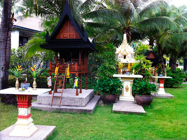 Spirit Houses in Koh Samui