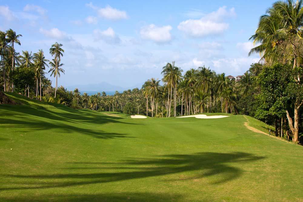 Golf courses in Koh Samui