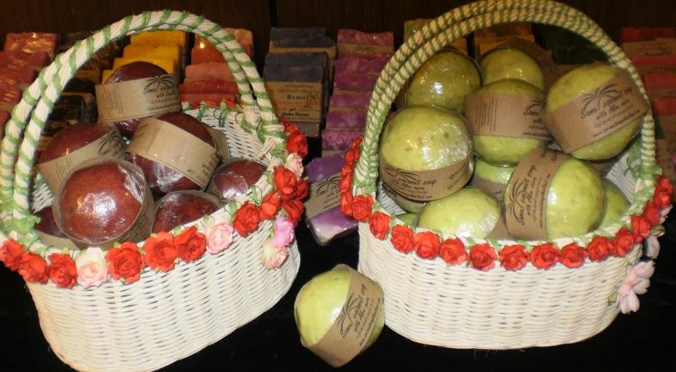 samui coconut soap souvenir
