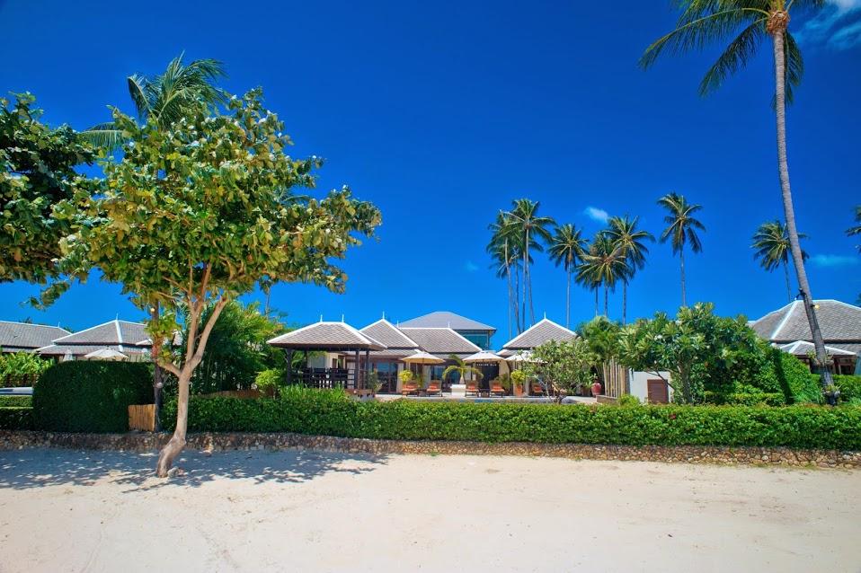 2 Bedroom Option Beach Front Villa with Private Pool at Plai Laem Koh Samui