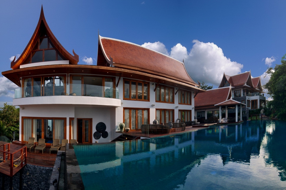 6 Bedroom Option Beach Front Villa with Private Pool at Bang Por Ko Samui