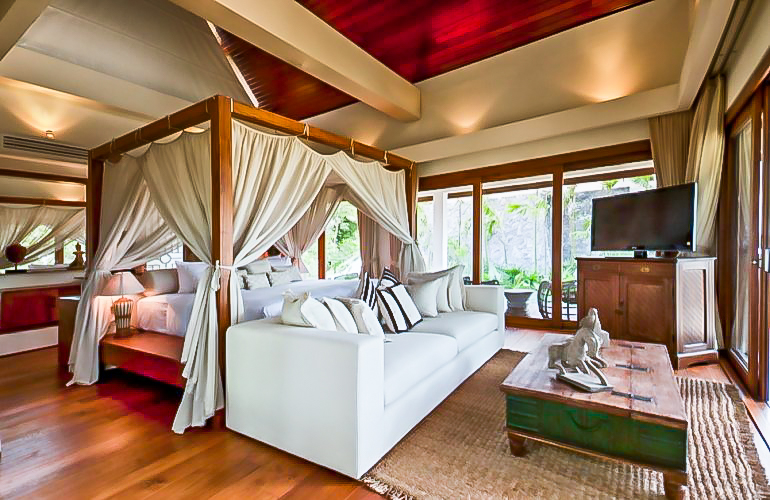 4 Bedroom Option Beach Front Villa with Private Pool at Bang Por Ko Samui