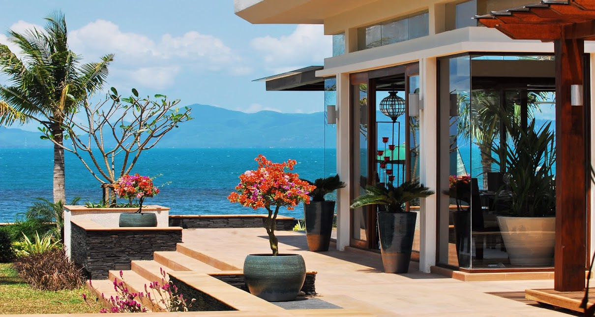 4 Bedroom Option Luxury Beach Front Villa with Plunge Pool at Bang Por Koh Samui