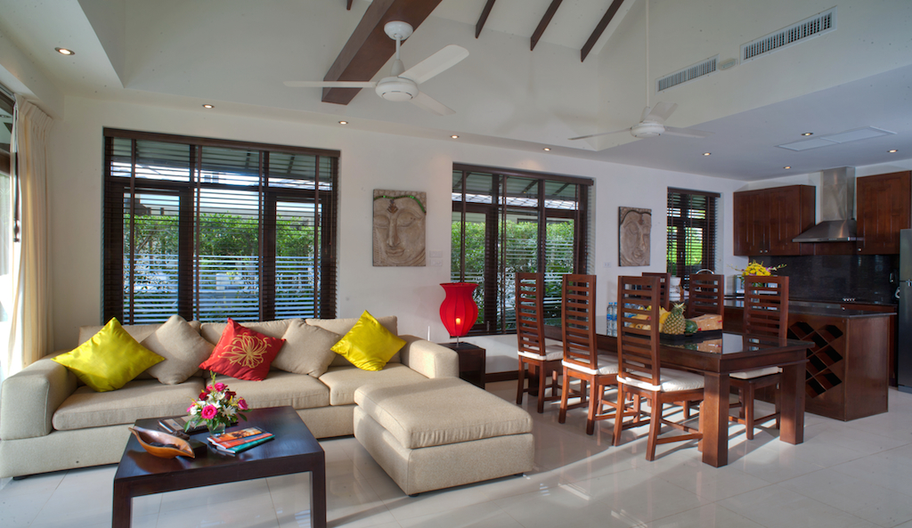 1 Bedroom Option Beach Front Holiday Villa with Pool at Plai Laem Koh Samui
