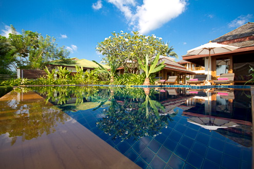 5 Bedroom Beach Front Villa with Private Pool at Lipa Noi Koh Samui