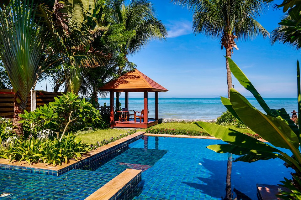 2 Bedroom Option Beach Villa with Private Pool at Lipa Noi Koh Samui