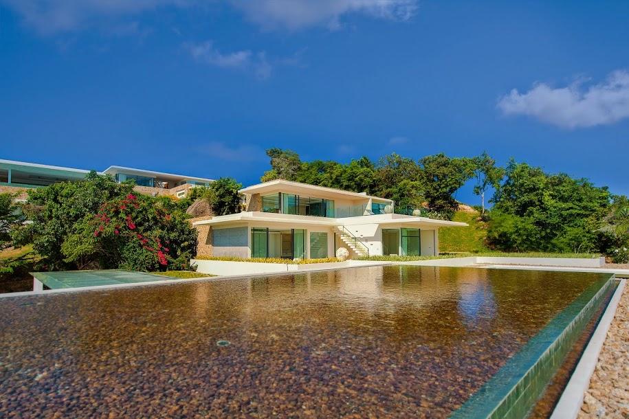 5 Bedroom Sea View Villa with Pool at Choeng Mon Samui Thailand