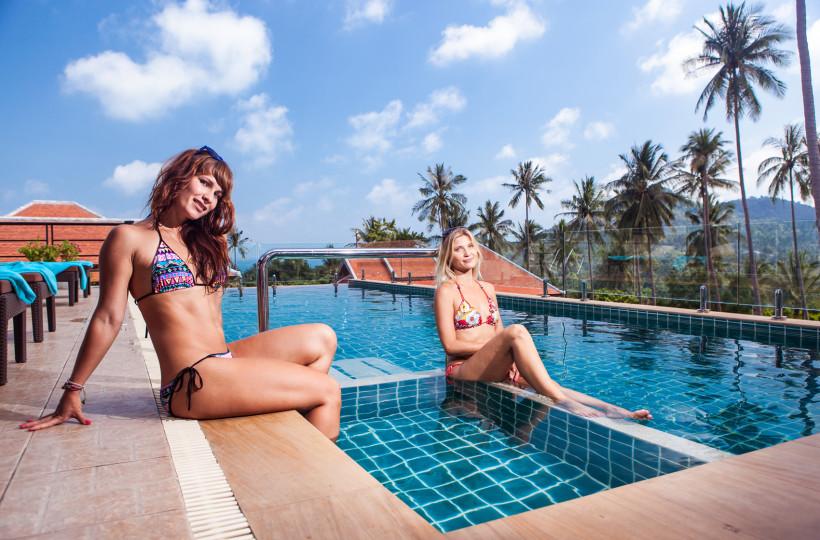 4 Bedroom Sea View Villa with Pool at Chaweng Ko Samui