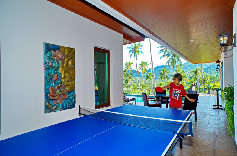 3 Bedroom Option Sea View Villa with Pool at Chaweng Ko Samui
