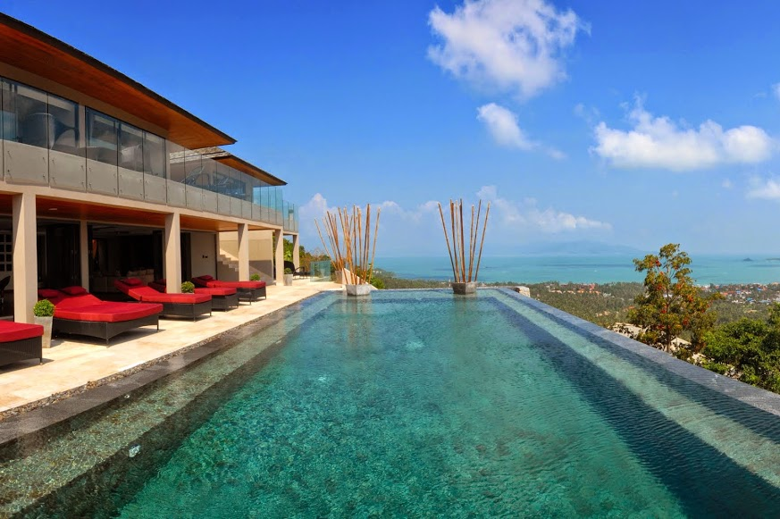 5 Bedroom Sea View Villa with Private Pool at Bophut Ko Samui