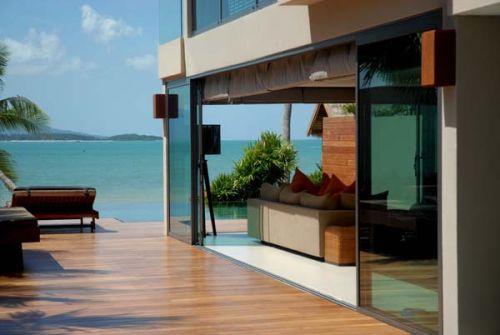 3 Bedroom Beach Front Villa with Private Pool at Bangrak Ko Samui