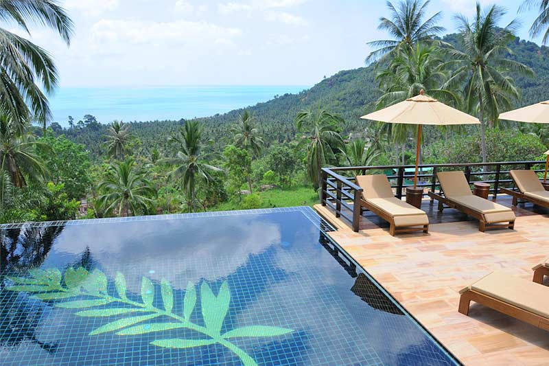 5 Bedroom Sea View Villa with Private Pool at Chaweng Koh Samui