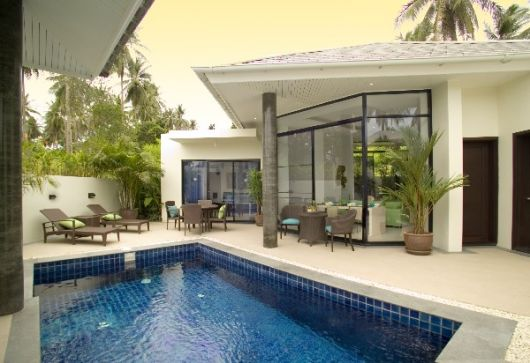 3 Bedroom Garden View Villa with Pool at Choeng Mon Ko Samui Thailand
