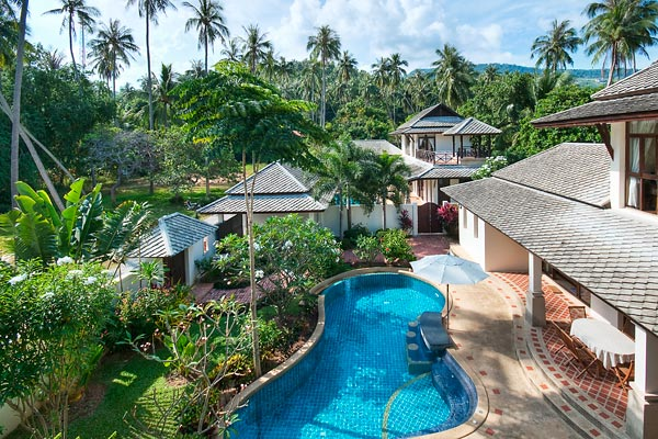 4 Bedroom Garden Villa with Private Pool at Bang Por Koh Samui
