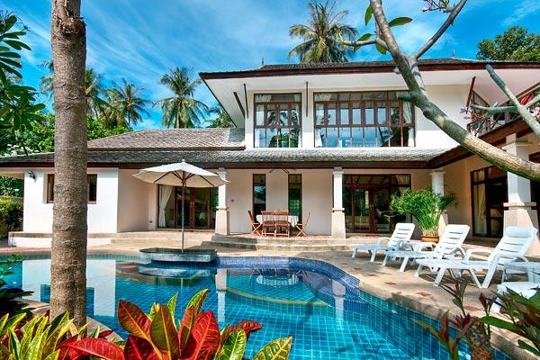 3 Bedroom Garden Villa with Private Pool at Bang Por Ko Samui