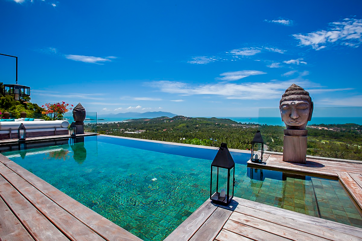 3 Bedroom Villa with Sea View and Pool at Choeng Mon Ko Samui