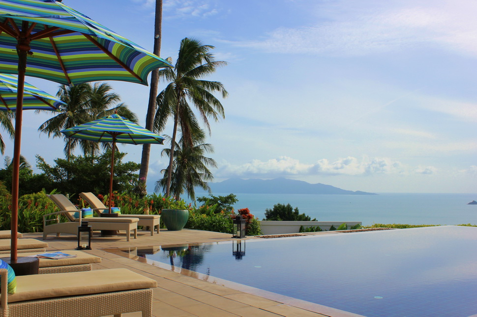 3 Bedroom Sea View Villa with Pool at Bophut Ko Samui