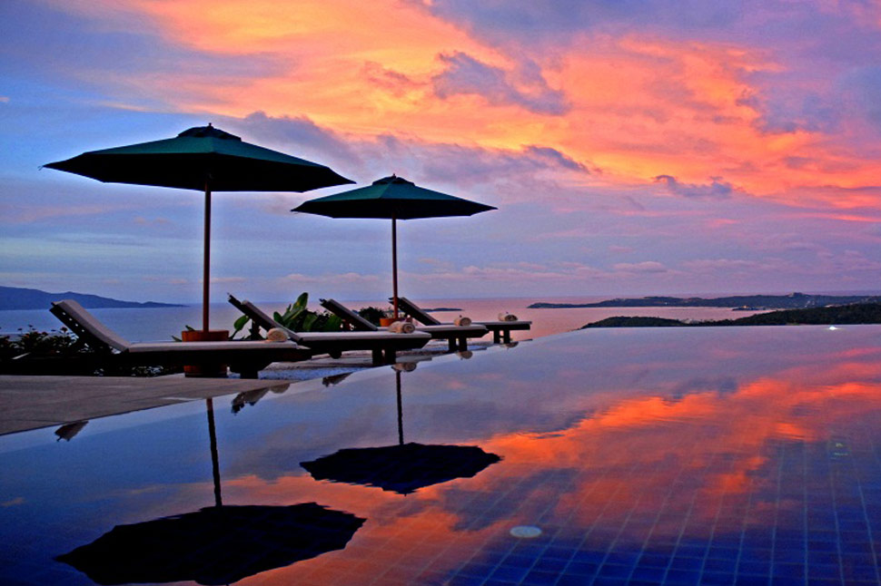3 Bedroom Sea View Villa with Pool at Bophut Ko Samui