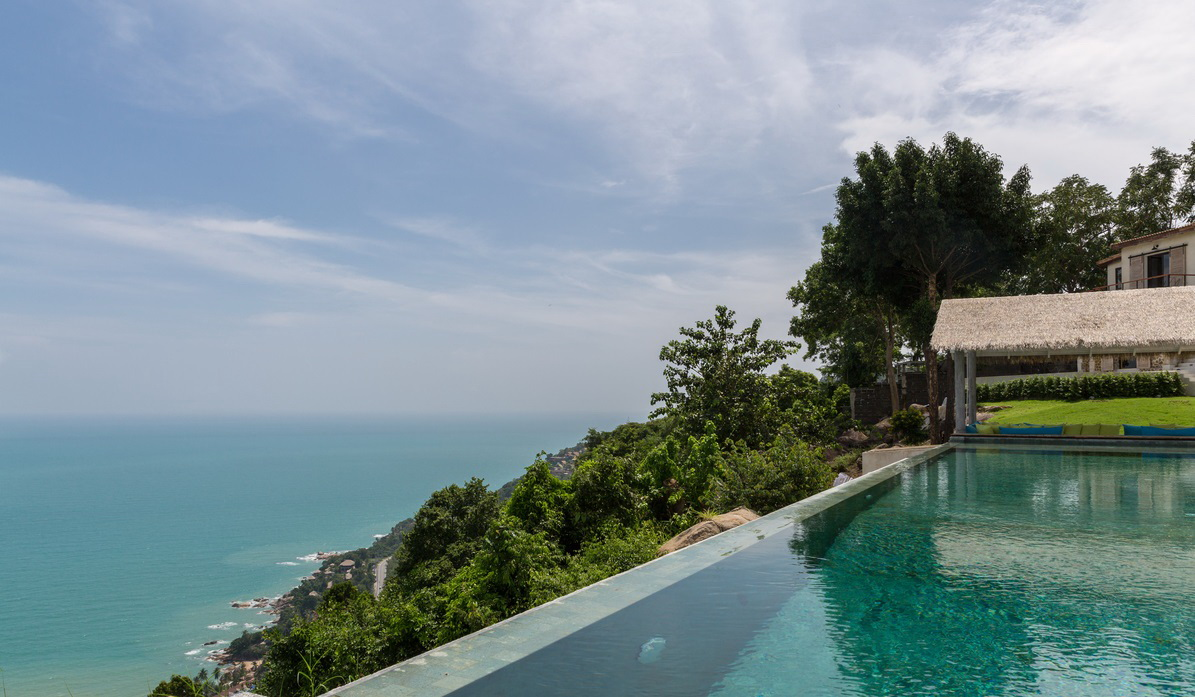 5 Bedroom Option Sea View Villa with Private Pool at Chaweng Samui