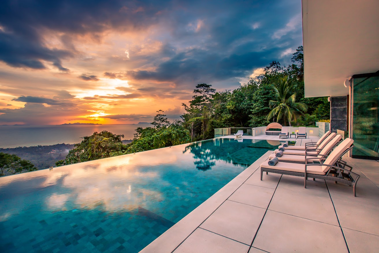 5 Bedroom Sea View Villa with Private Pool at Nathon Ko Samui