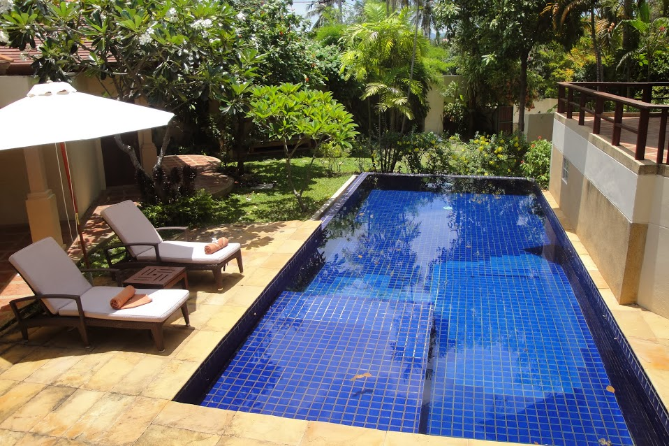 3 Bedroom Garden View Villa with Pool at Choeng Mon Koh Samui