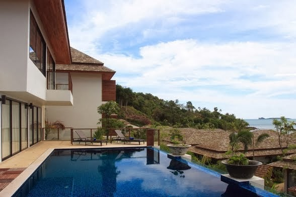 2 Bedroom Option Sea View Villa with Private Pool at Bo Phut Koh Samui