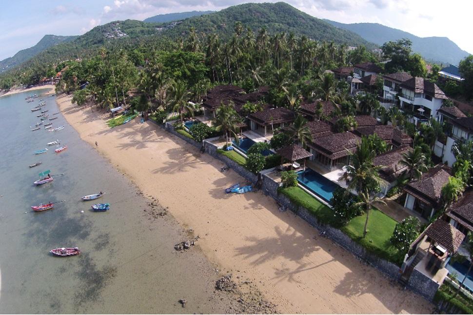 4 Bedroom Sea View Villa with Private Pool at Bo Phut Ko Samui