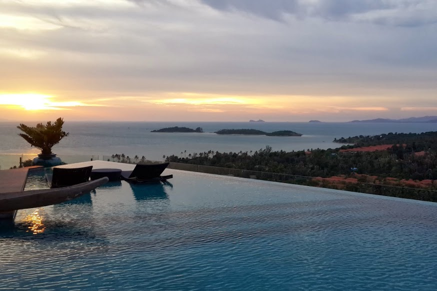 6 Bedroom Option Sea View Villa with Pool at Choeng Mon Ko Samui Thailand