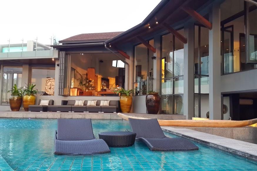 6 Bedroom Option Sea View Villa with Pool at Choeng Mon Ko Samui Thailand