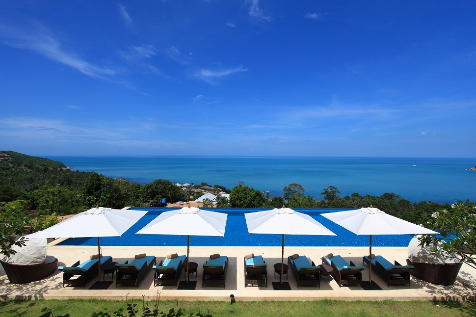 5 Bedroom Option Sea View Villa with Private Pool at Chaweng Ko Samui