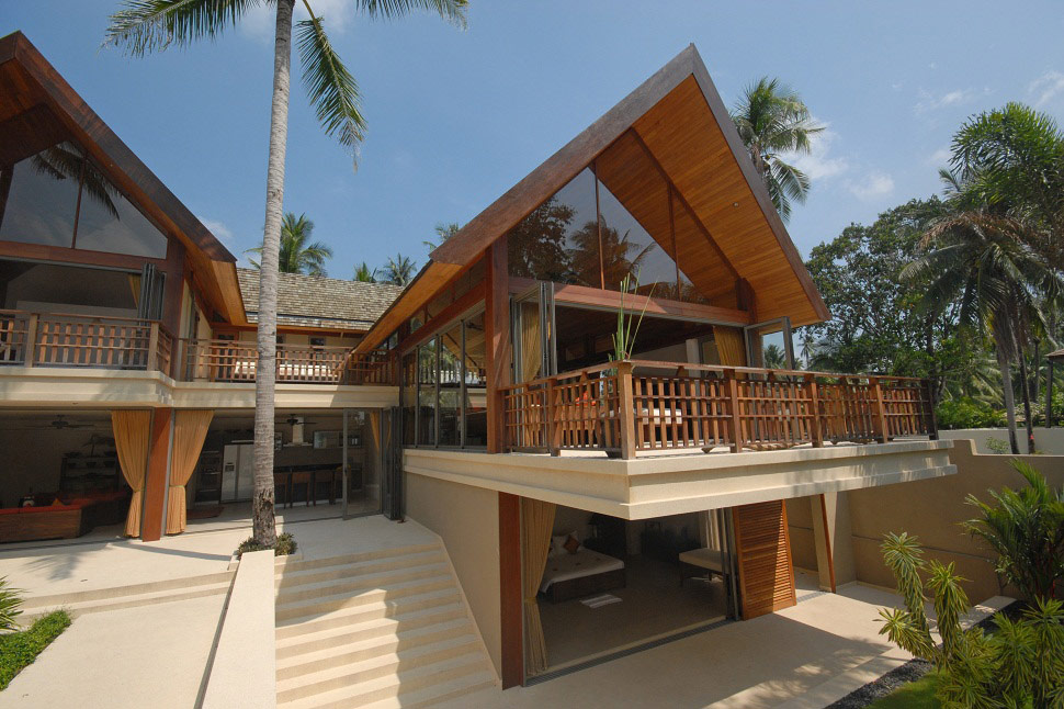 4 Bedroom Luxury Beach Front Villa with Private Pool at Lipa Noi Koh Samui