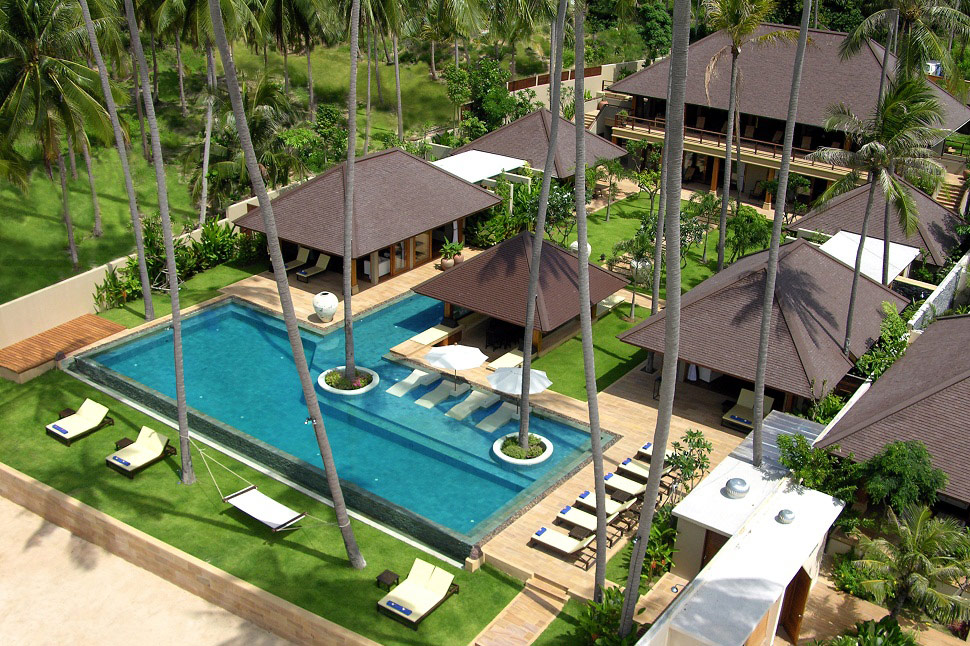 6 Bedroom Beach Front Villa with Private Pool at Laem Sor Ko Samui