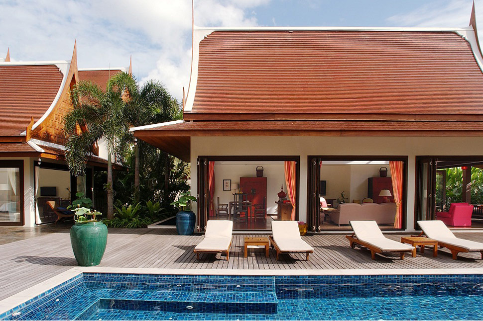 5 Bedroom Beach Front Villa with Pool at Lipa Noi Koh Samui Thailand