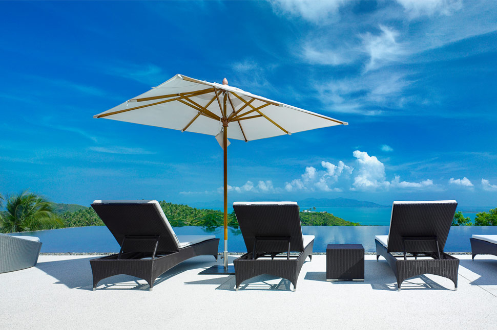 6 Bedroom Sea View Villa with Private Pool at Bophut Koh Samui
