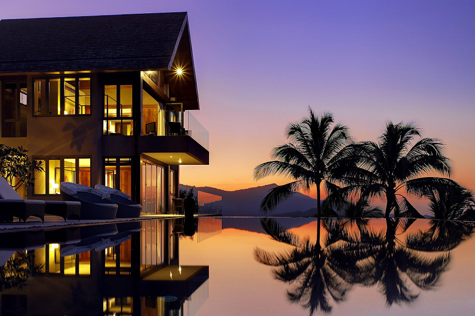 6 Bedroom Sea View Villa with Private Pool at Bophut Koh Samui