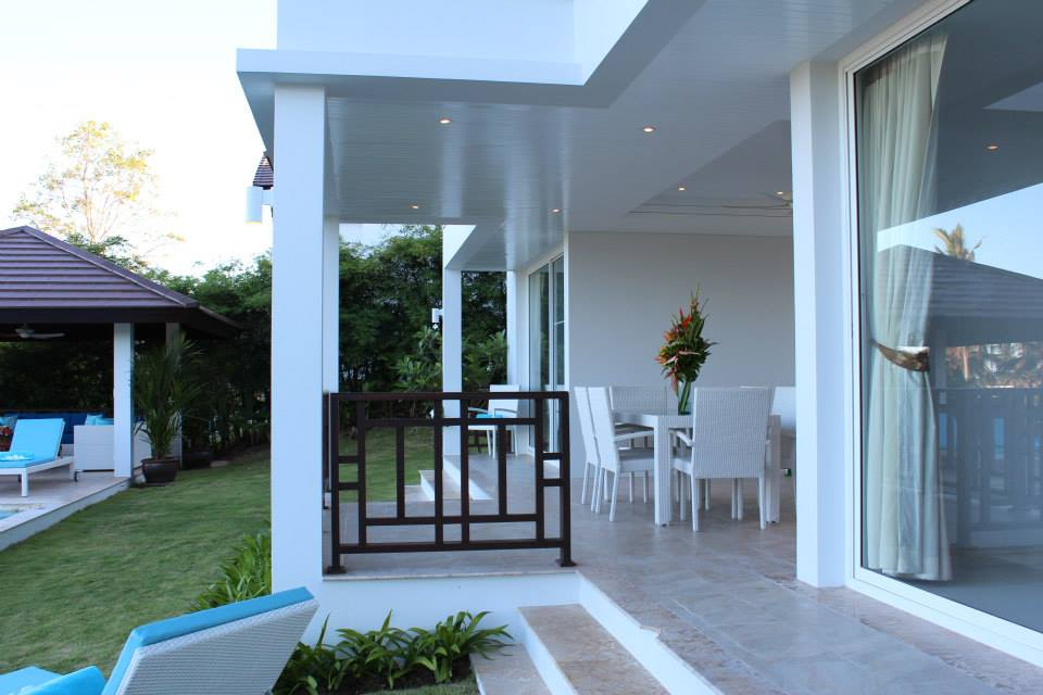 3 Bedroom Sea View Villa with Private Pool at Choeng Mon Koh Samui Thailand