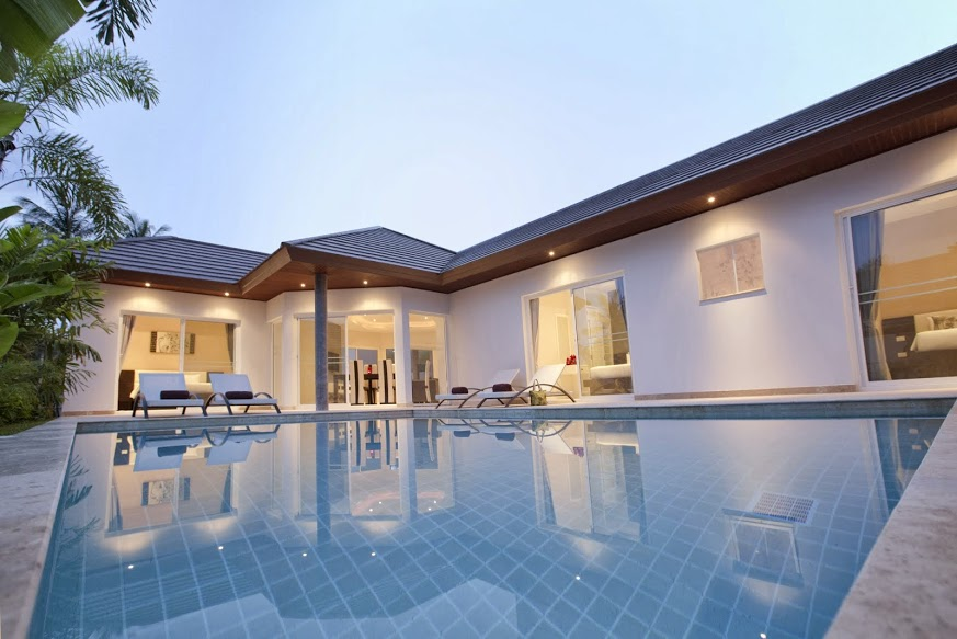 3 Bedroom Garden Villa with Pool at Choeng Mon Koh Samui