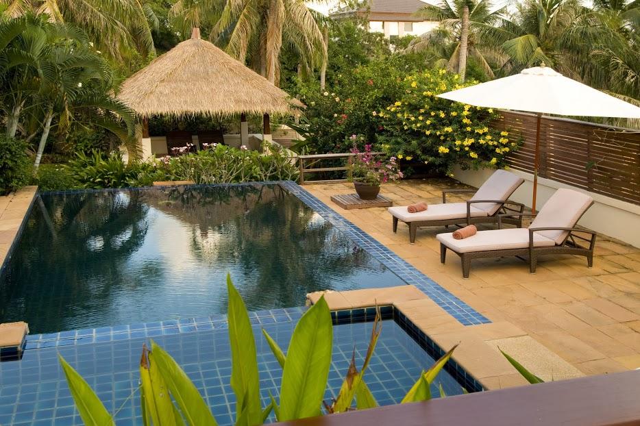 4 Bedroom Garden View Villa with Pool at Choeng Mon Ko Samui