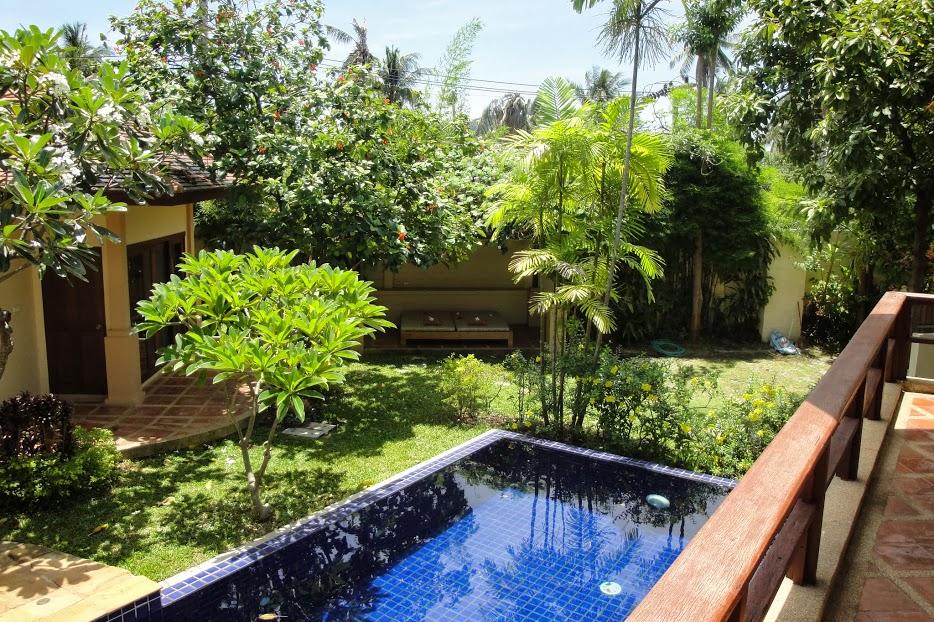 3 Bedroom Garden View Villa with Pool at Choeng Mon Samui