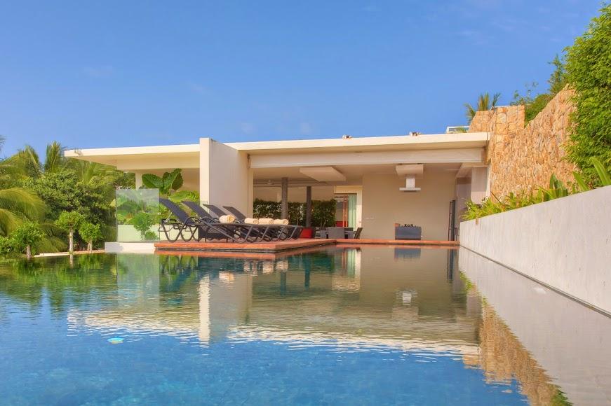 1 Bedroom Option Sea View Villa with Pool at Choeng Mon Samui