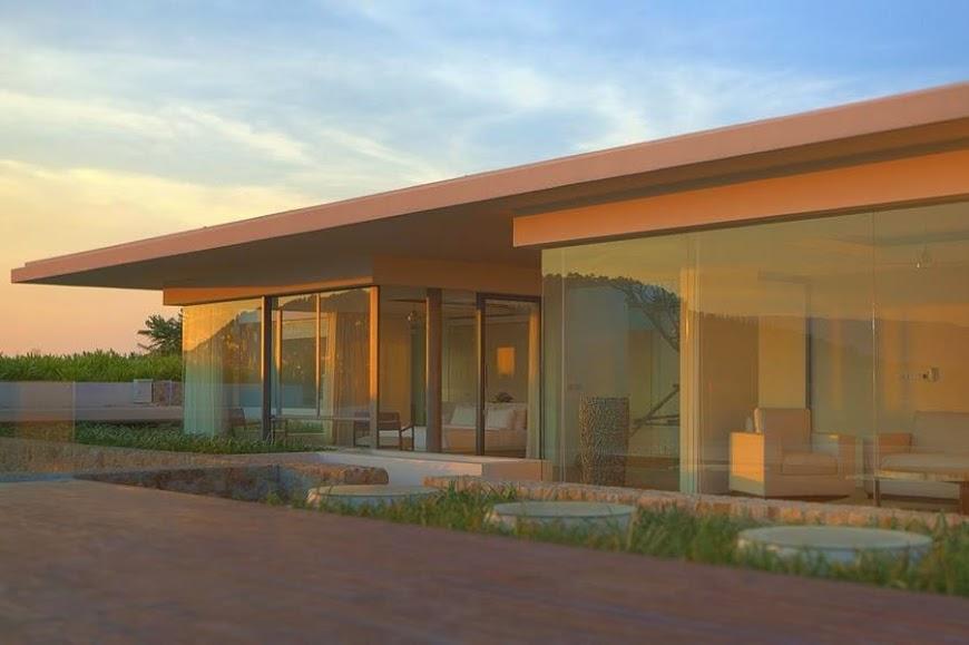5 Bedroom Sea View Villa with Pool at Choeng Mon Koh Samui Thailand
