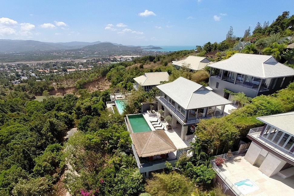 4 Bedroom Sea View Villa with Pool at Chaweng Koh Samui