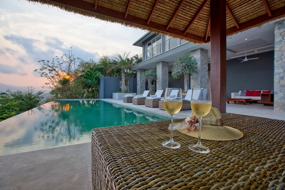 4 Bedroom Sea View Villa with Pool at Chaweng Koh Samui