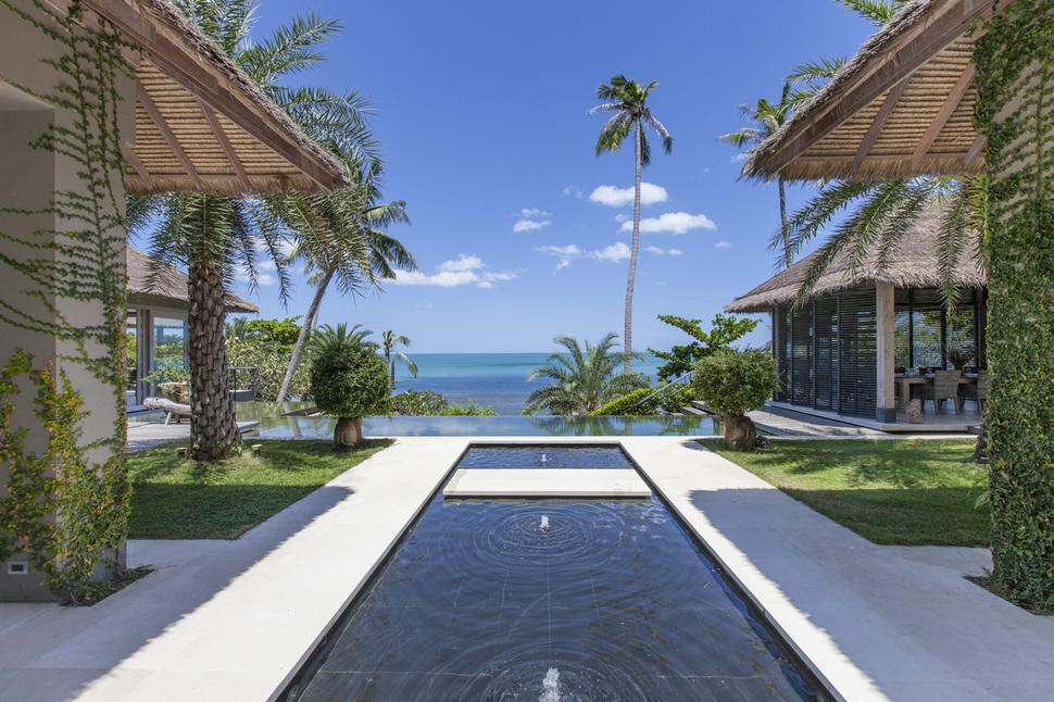 6 Bedroom Beach Front Villa with Pool at Chaweng Ko Samui