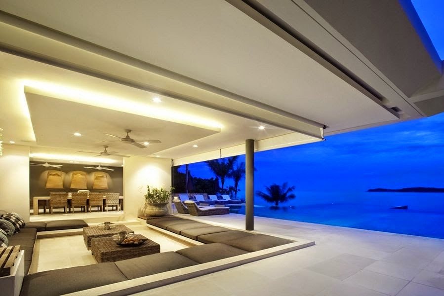 6 Bedroom Sea View Villa with Private Pool at Choeng Mon Koh Samui