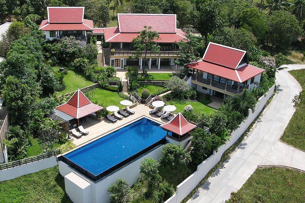 5 Bedroom Sea View Villa with Private Pool at Bophut Koh Samui