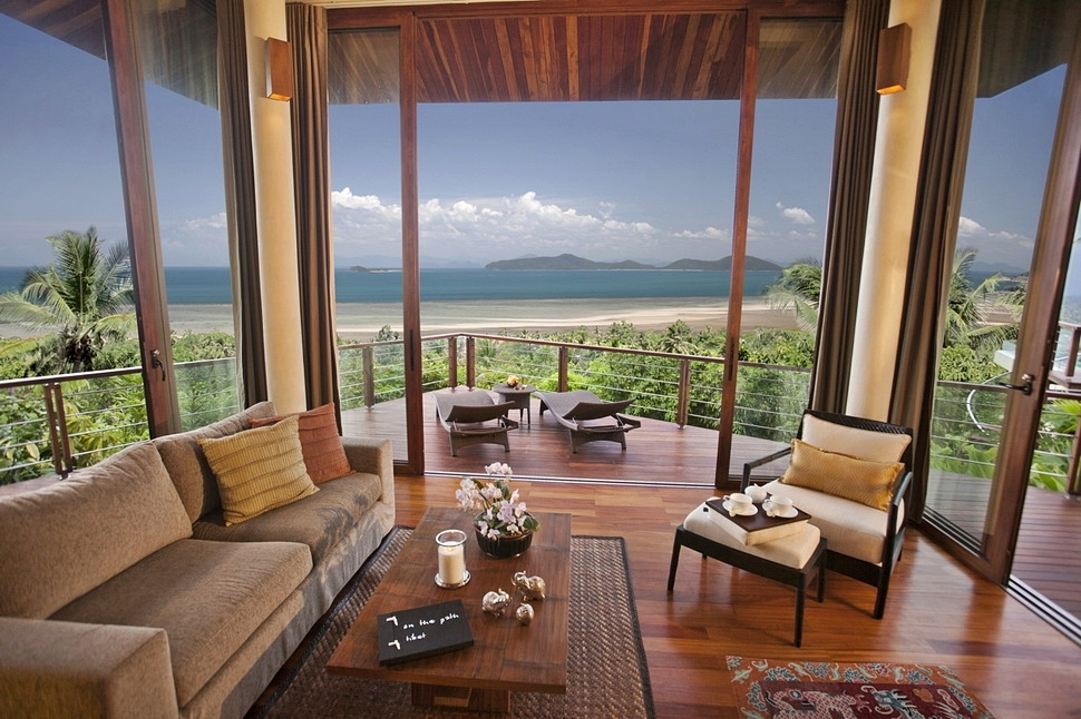 4 Bedroom Sea View Villa with Private Pool at Laem Sett Koh Samui