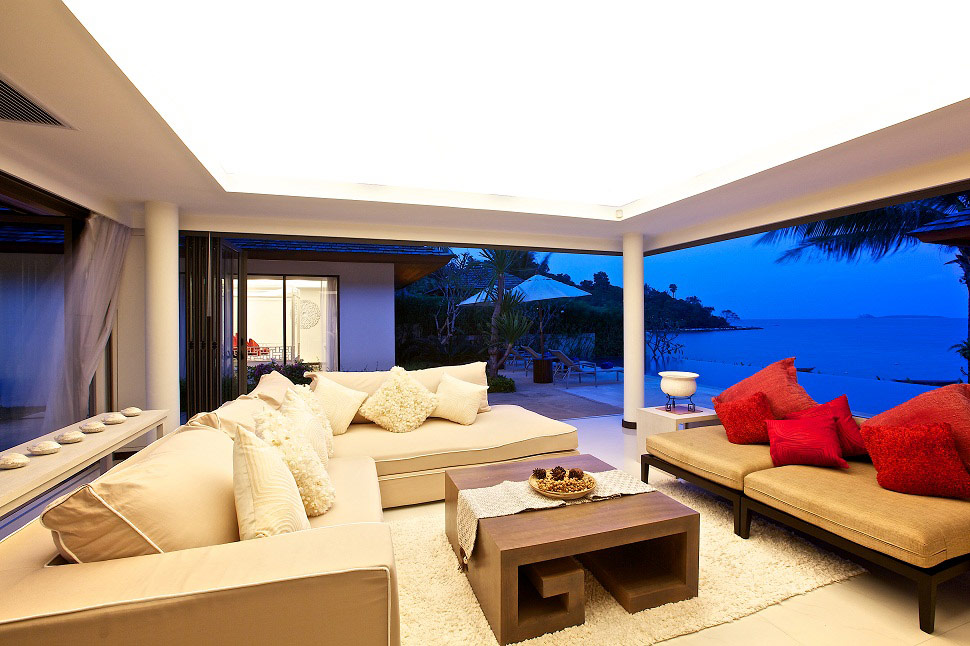 2 Bedroom Option Beach Front Villa with Pool at Bophut Koh Samui